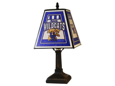 Kentucky Wildcats Art Glass Table Lamp
