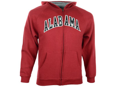Alabama Crimson Tide NCAA Youth Full-Zip Hoodie