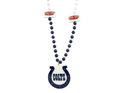 Indianapolis Colts Medallion Beads