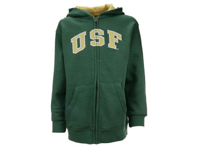 South Florida Bulls NCAA Youth Full-Zip Hoodie