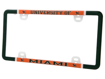 Miami Hurricanes Thin Rim Frame