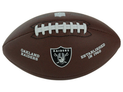 Oakland Raiders NFL Composite Football