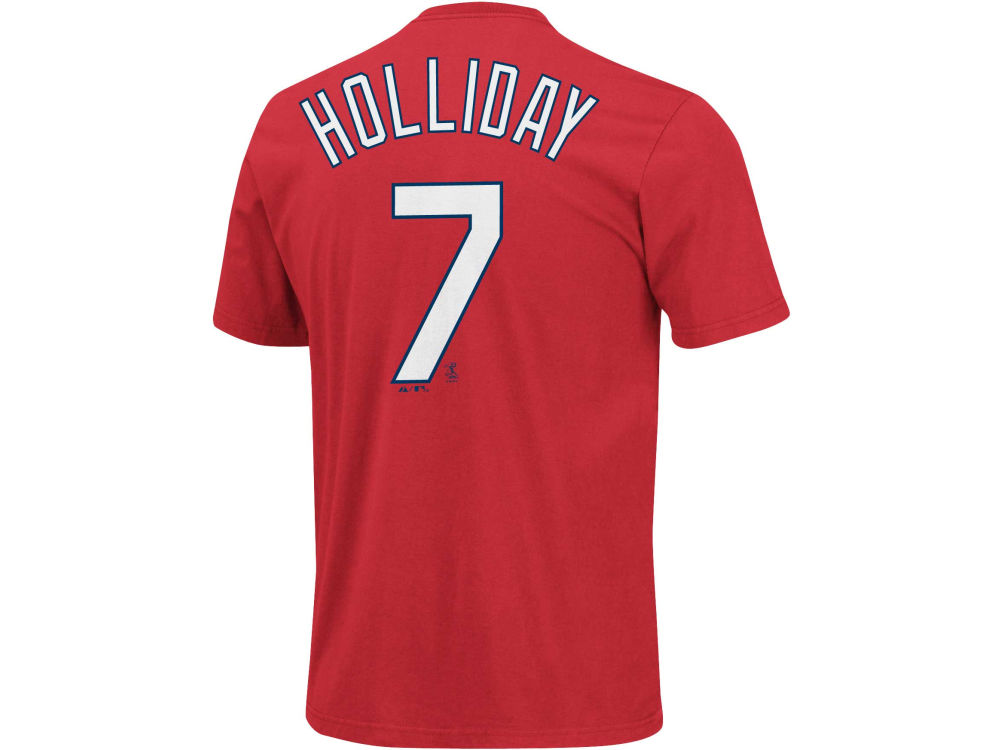 St. Louis Cardinals Matt Holliday Majestic MLB Men s Player T-Shirt ... e8bc5c301