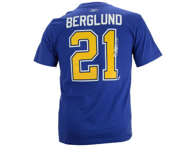 St. Louis Blues Patrik Berglund Reebok NHL Premier Player T-Shirt