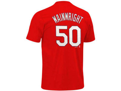 St. Louis Cardinals Adam Wainwright Majestic MLB Youth Player T-Shirt