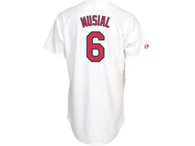 St. Louis Cardinals Stan Musial Majestic MLB Men's Cooperstown Fan Replica Jersey