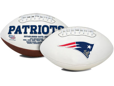 New England Patriots Signature Series Football