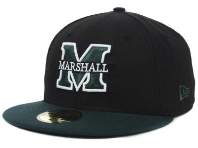 Marshall Thundering Herd New Era NCAA 2 Tone 59FIFTY Cap