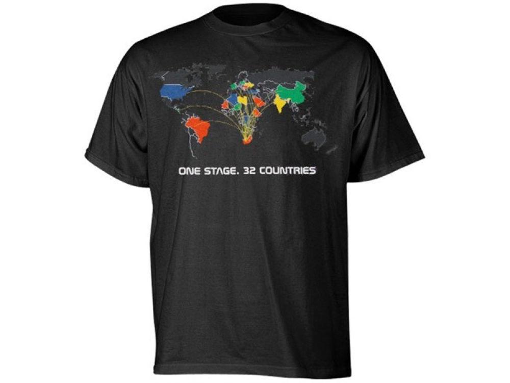 74108aa53 World Cup Soccer adidas MLS 2010 Concert T-Shirt