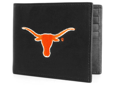 Texas Longhorns Black Bifold Wallet
