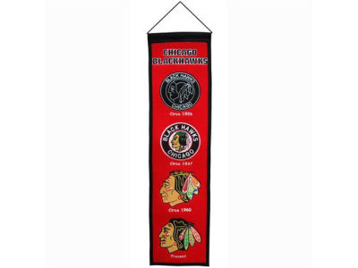 Chicago Blackhawks Heritage Banner
