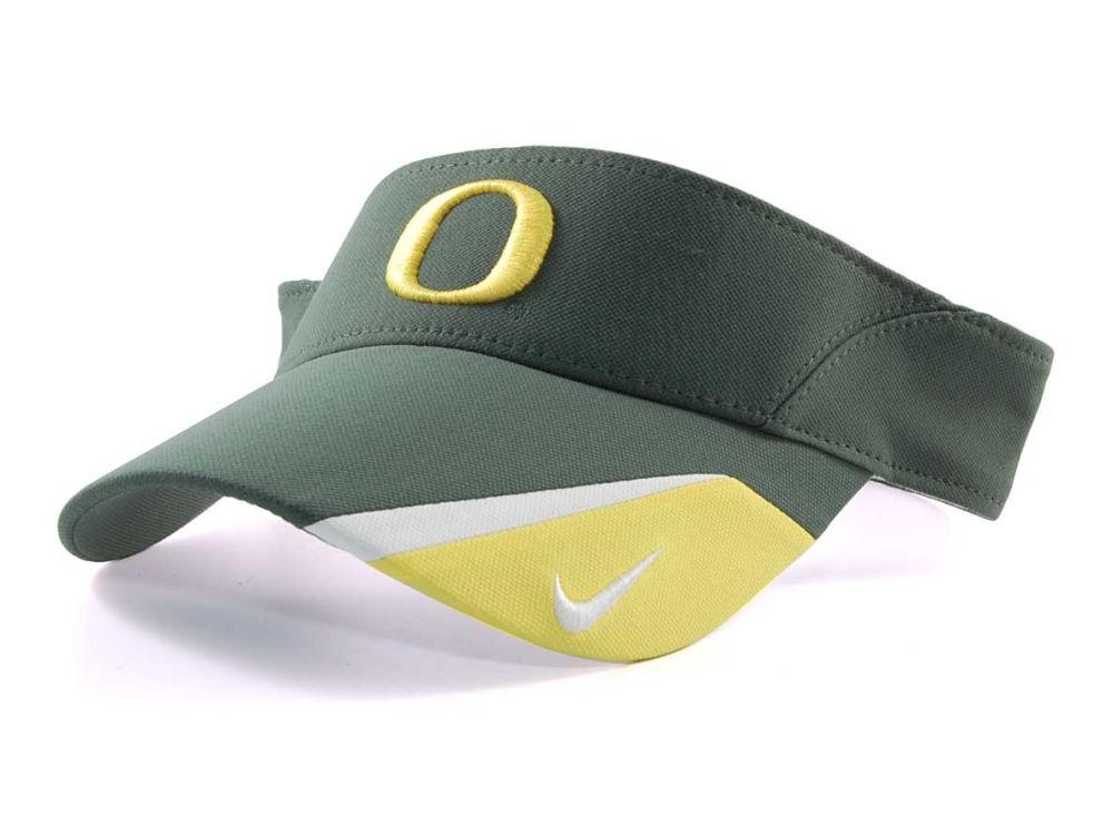 Oregon Ducks Nike NCAA Nike Team Sports Dri-Fit Visor  382ab2e25f0