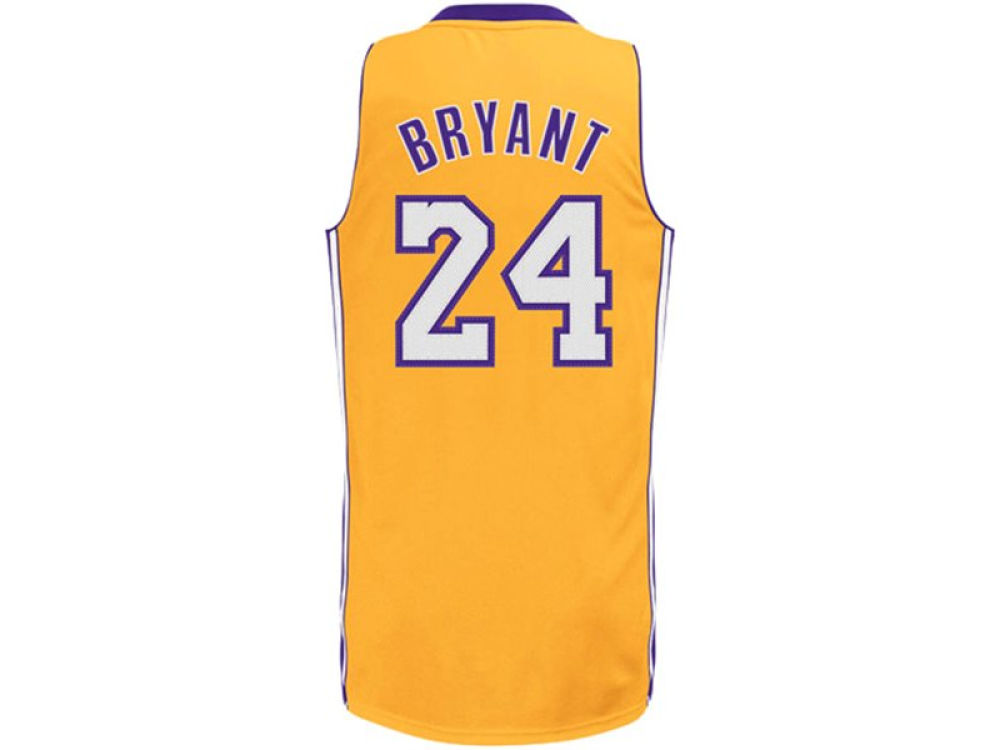 Los Angeles Lakers Kobe Bryant NBA Youth Revolution 30 Swingman Jersey  c6063f02e