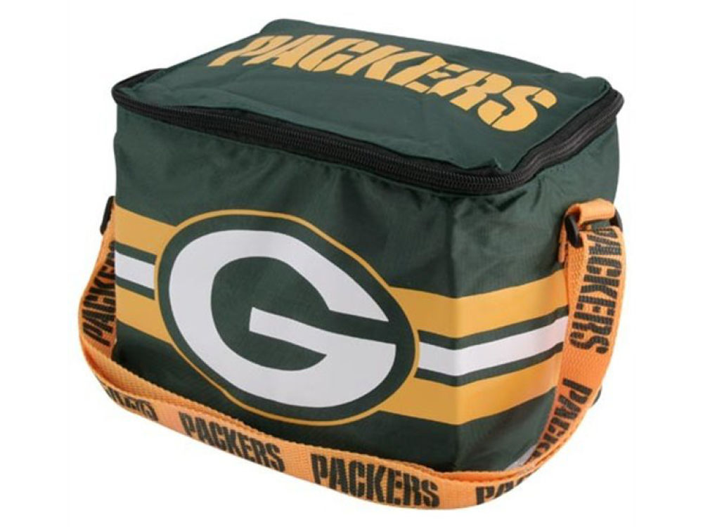 50e9f2526c03 Green Bay Packers Forever Collectibles 6-pack Lunch Cooler