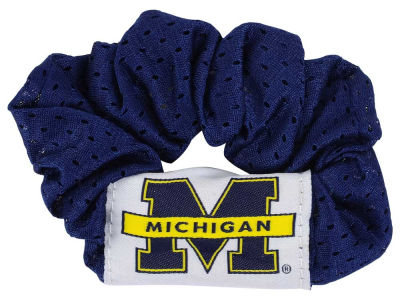 Michigan Wolverines Hair Twist
