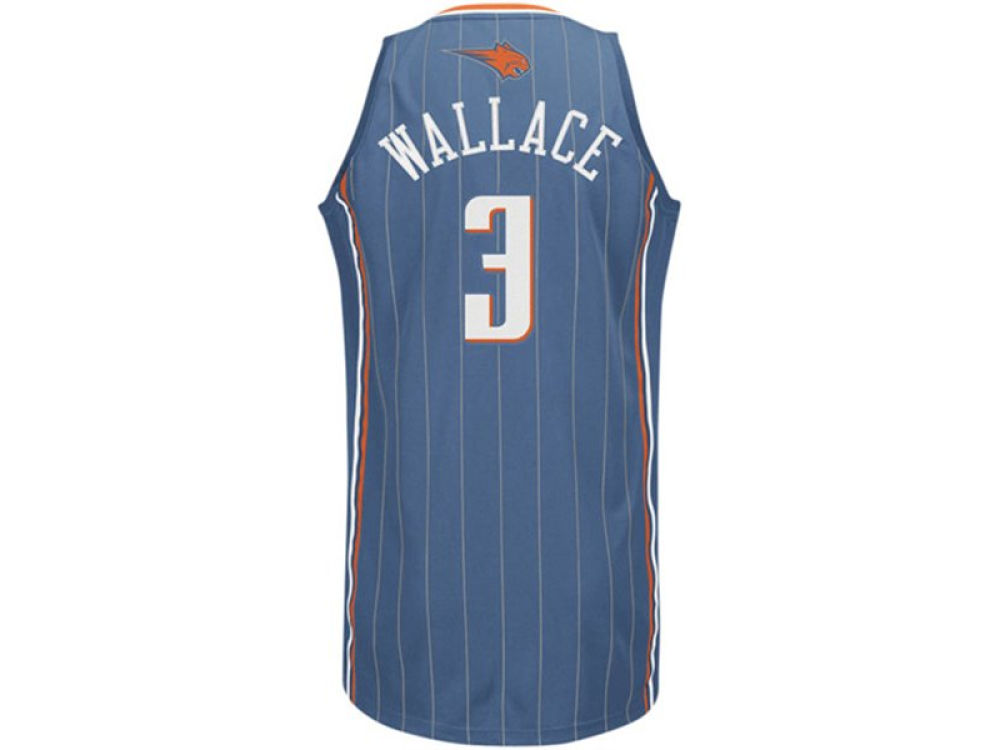 13d82aaa4 Charlotte Bobcats Gerald Wallace adidas NBA Revolution 30 Swingman Jersey