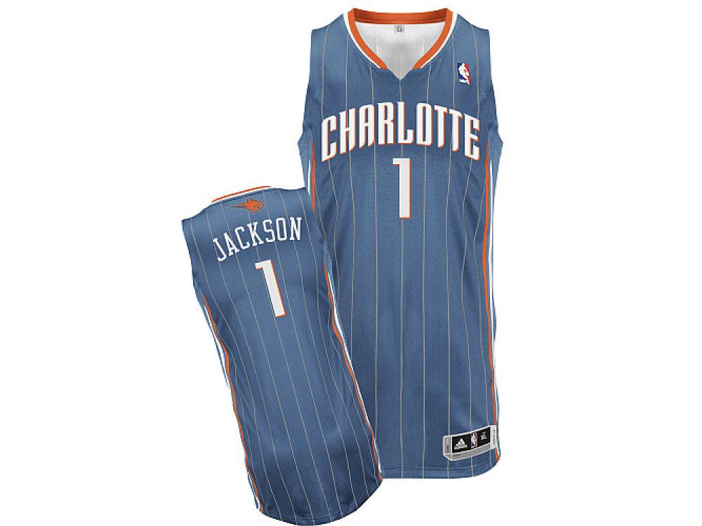 Charlotte Bobcats Stephen Jackson adidas NBA Revolution 30 Swingman Jersey   651014c71