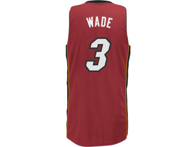 Miami Heat Dwyane Wade adidas NBA Men's Rev 30 Swingman Jersey