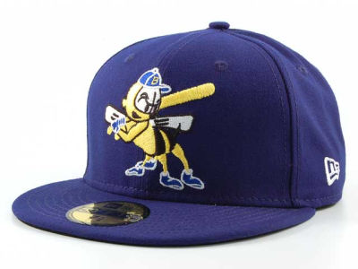 Burlington Bees New Era MiLB AC 59FIFTY Cap