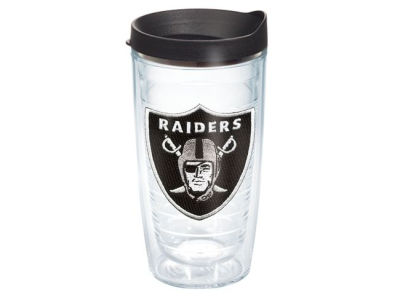 Oakland Raiders 16oz Tervis Tumbler