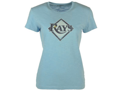 Tampa Bay Rays '47 MLB Womens Logo Scrum T-Shirt