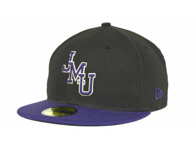 James Madison Dukes New Era NCAA 2 Tone 59FIFTY Cap