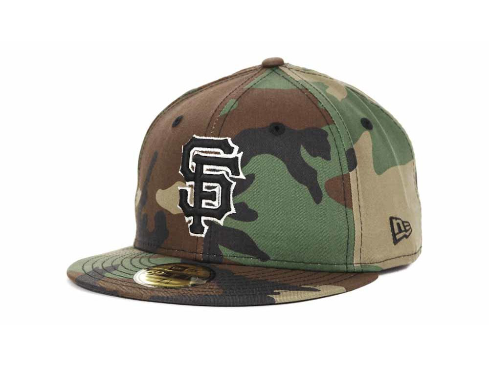 San Francisco Giants New Era MLB BC Camo 59FIFTY Cap  d339c1401a6