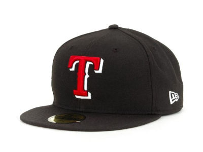 Texas Rangers New Era BR Stock 59FIFTY Cap