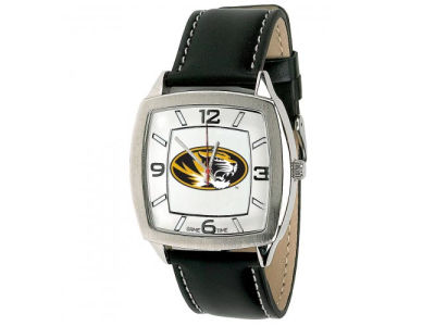 Missouri Tigers Retro Leather Watch