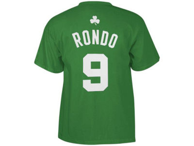Boston Celtics Rajon Rondo adidas NBA Men's Player T-Shirt
