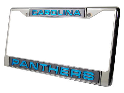 Carolina Panthers Laser Frame Rico