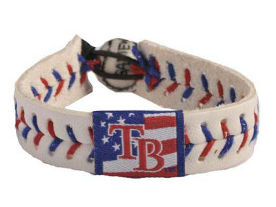 Tampa Bay Rays MLB Stars and Stripes Game Wear Bracelet