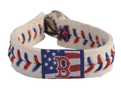 Boston Red Sox MLB Stars and Stripes Game Wear Bracelet