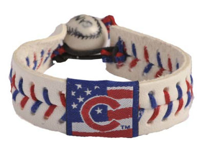 Chicago Cubs MLB Stars and Stripes Game Wear Bracelet