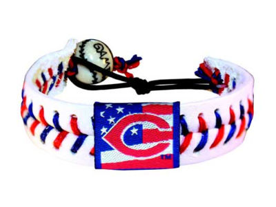 Cincinnati Reds MLB Stars and Stripes Game Wear Bracelet