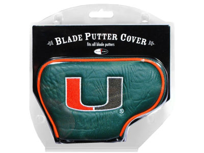 Miami Hurricanes Blade Putter Cover