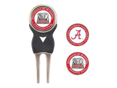 Alabama Crimson Tide Divot Tool and Markers