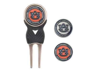 Auburn Tigers Divot Tool and Markers