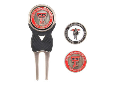 Texas Tech Red Raiders Divot Tool and Markers