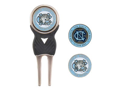 North Carolina Tar Heels Divot Tool and Markers