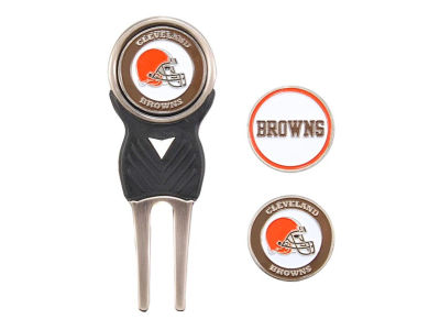 Cleveland Browns Divot Tool and Markers