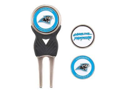 Carolina Panthers Divot Tool and Markers