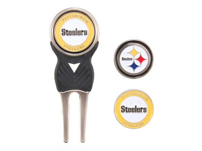 Pittsburgh Steelers Divot Tool and Markers