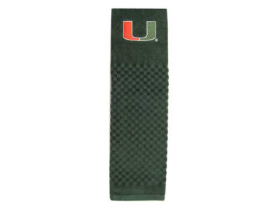 Miami Hurricanes Trifold Golf Towel