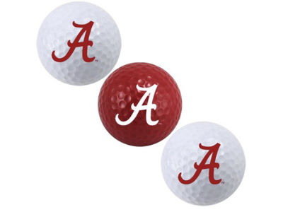 Alabama Crimson Tide 3-pack Golf Ball Set