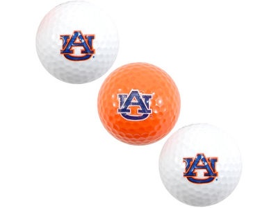 Auburn Tigers 3-pack Golf Ball Set