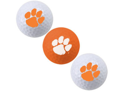 Clemson Tigers 3-pack Golf Ball Set
