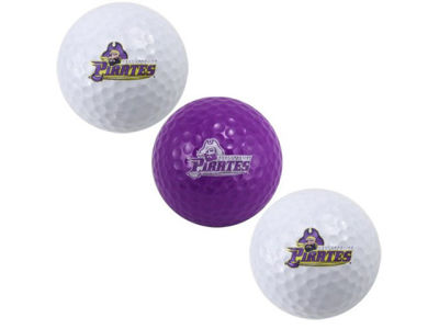 East Carolina Pirates 3-pack Golf Ball Set