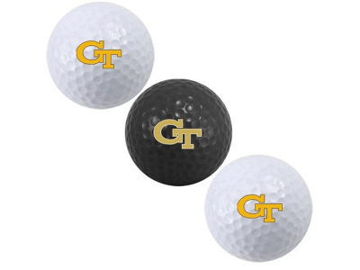 Georgia-Tech 3-pack Golf Ball Set