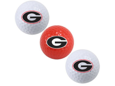 Georgia Bulldogs 3-pack Golf Ball Set